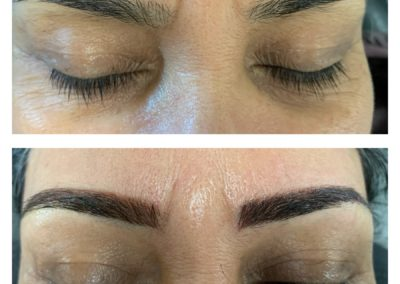 microblading micropowdering combo